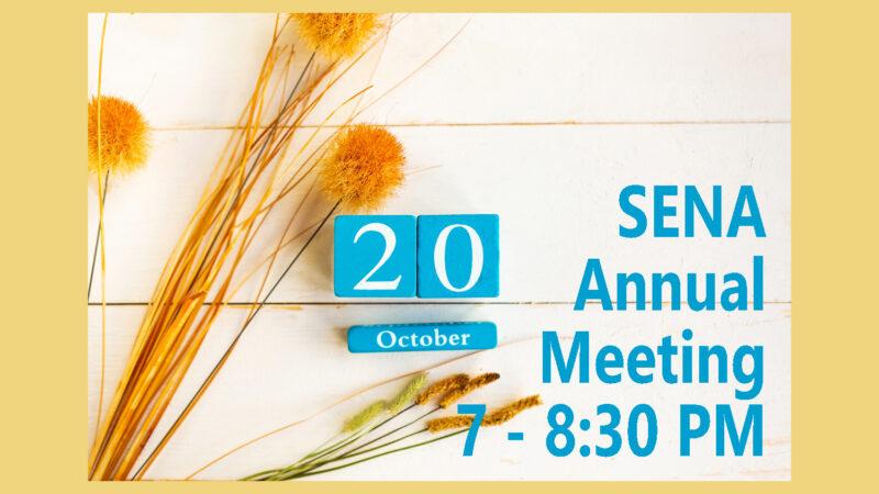 SENA Annual Meeting
