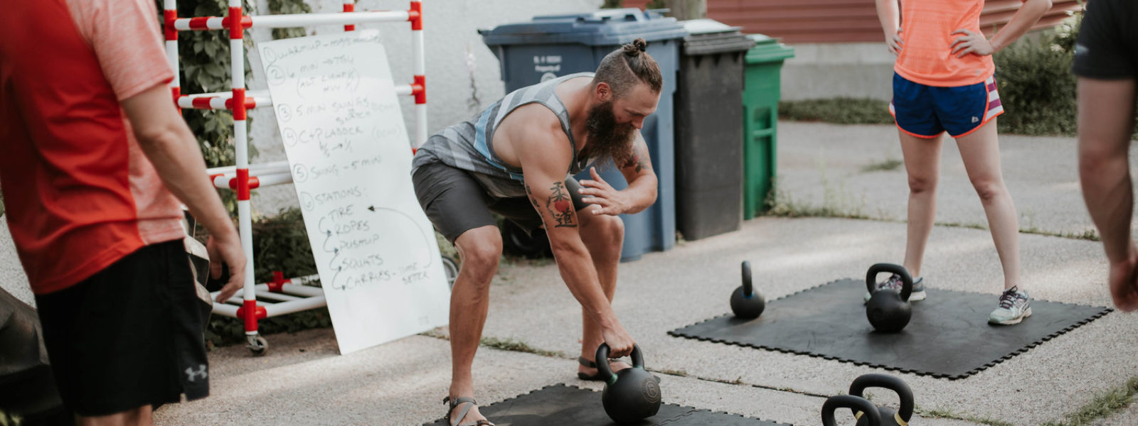 Ben Swart of Hardshell Fitnes, Thrive Might, and Frost Iron Training.