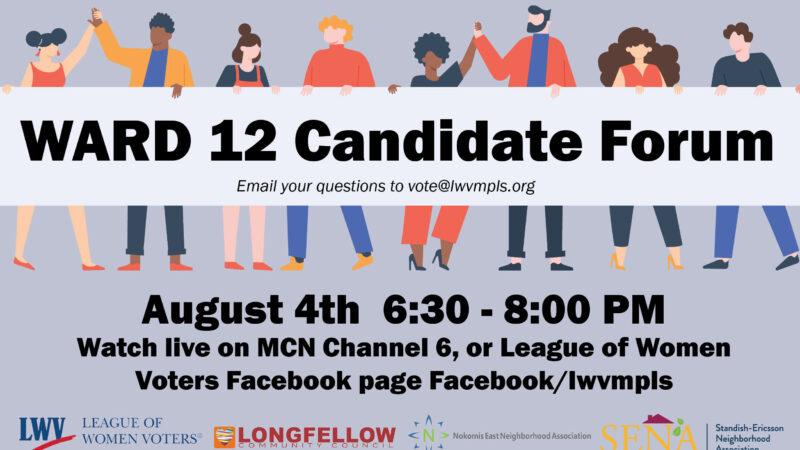 Ward 12 Candidate Forum
